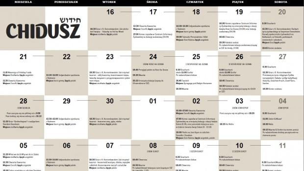 Kliknij w kalendarz, aby powiększyć
